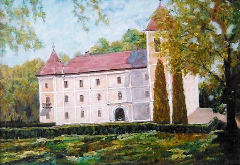 Jancsovicsné Bakosi Mária festménye